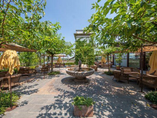 Le Ali del Frassino - Garten